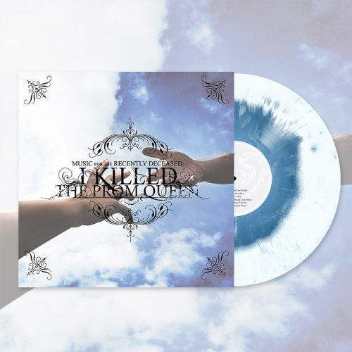 White/Sky Blue Marble