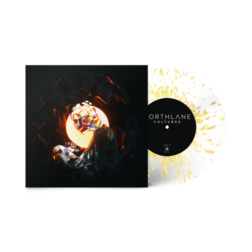 Vultures - Clear with Yellow Splatter